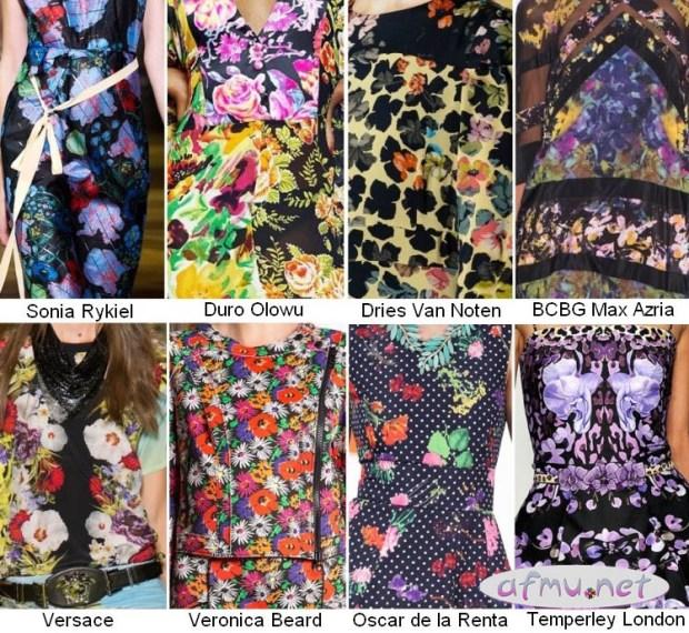 Fashionable prints