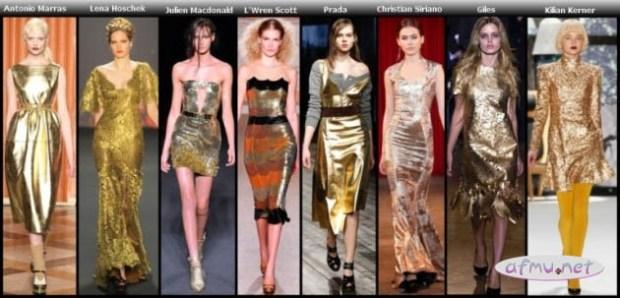Gold Dresses6