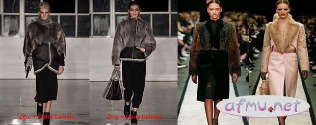 Fashionable fur
