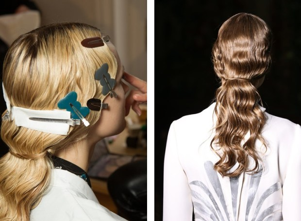Valentino hairstyles