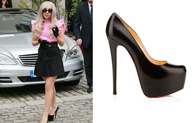 Lady Gaga celebrities Shoes