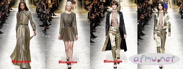 Gold Blumarine
