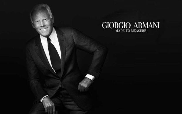 Top 10 famous designers - Giorgio Armani