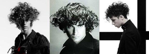 Waves men hairstyle