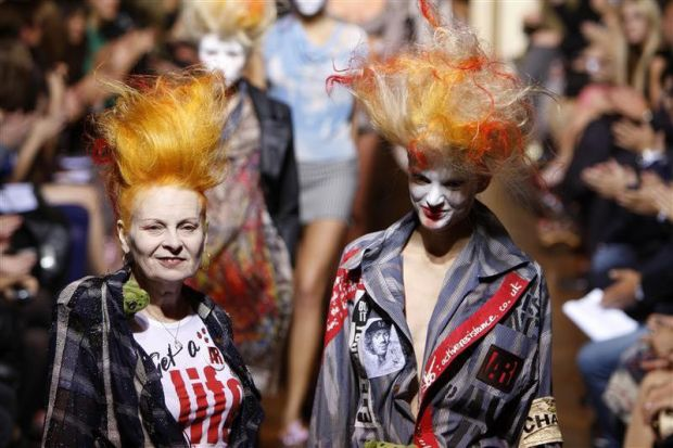 Vivienne Westwood crazy hairstyle