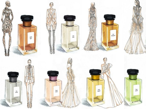 Givenchy fragrances