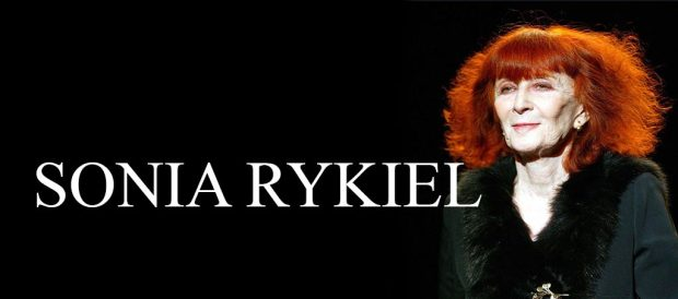 French fashion designers Sonia Rykiel