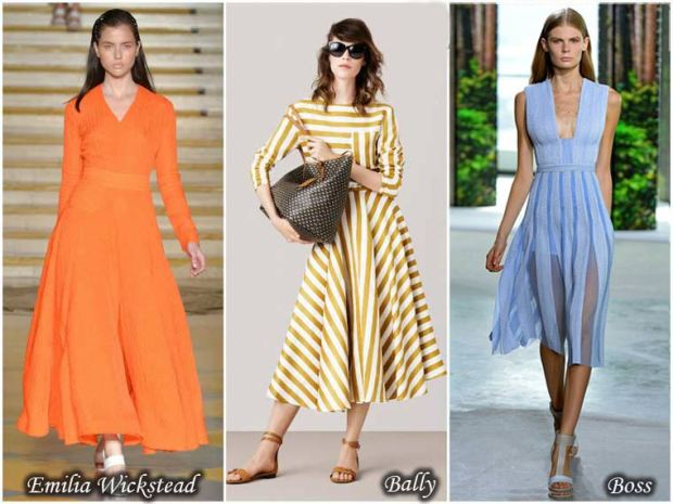 Slim fit dresses Spring 2016
