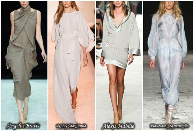 Pastel color dresses Spring 2016