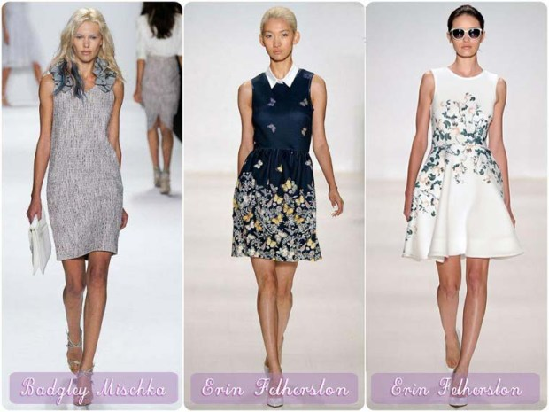 Retro style New Year 2016 dresses