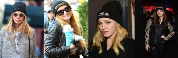 Celebrities choice caps winter 2016