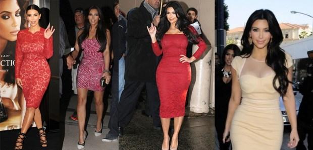 Best Kim Kardashian midi dresses
