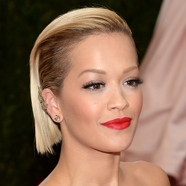 Rita Ora Beauty Secrets red lips
