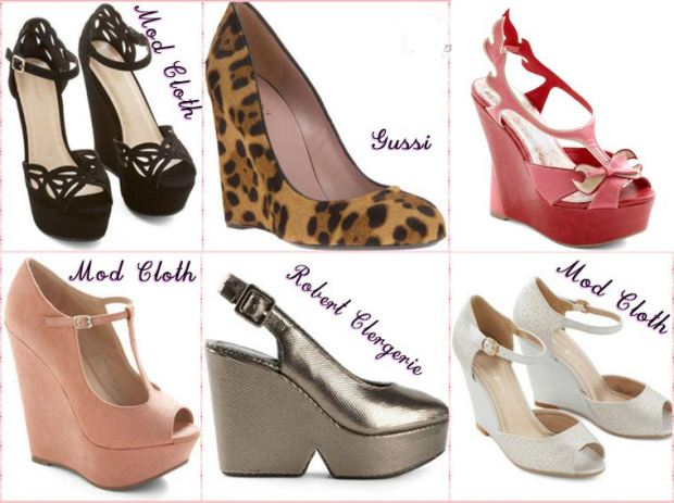 Wedges shoes Spring 2016