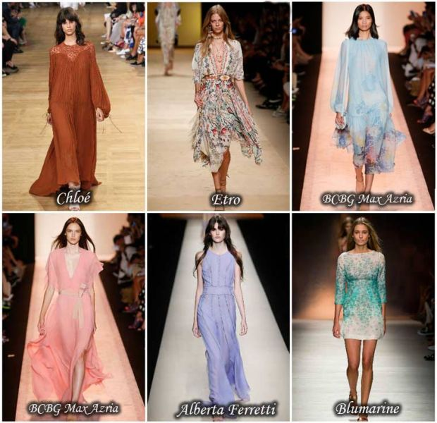 Light Dresses Spring 2016