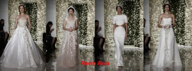 Reem Acra Wedding dresses Summer 2016