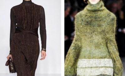 Fashionable warm dresses