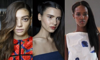 Trendy hairstyles SS 2015