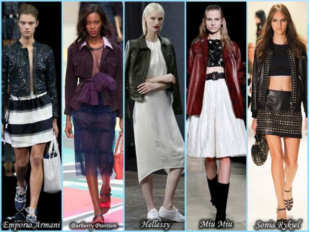 Leather jackets for women Spring 2016