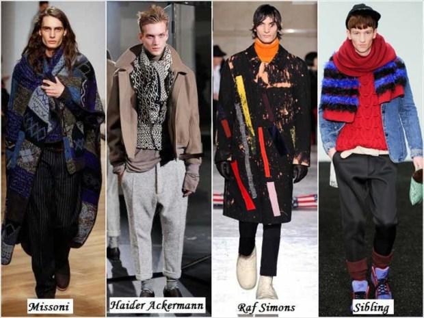 Bohemian style men Winter 2016