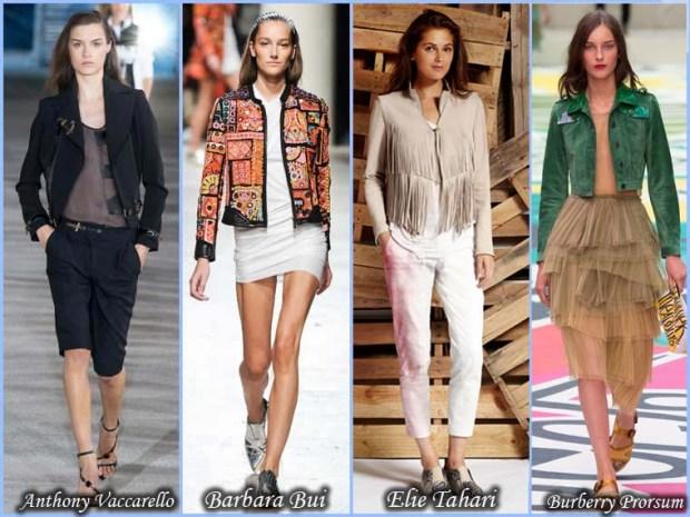 Trendy Short jackets Spring 2016