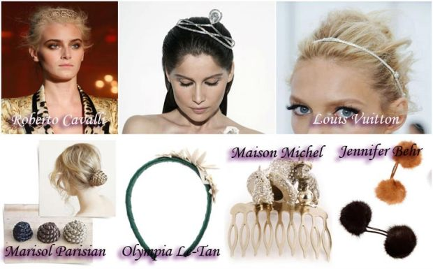 Hair accessories New Year 2016