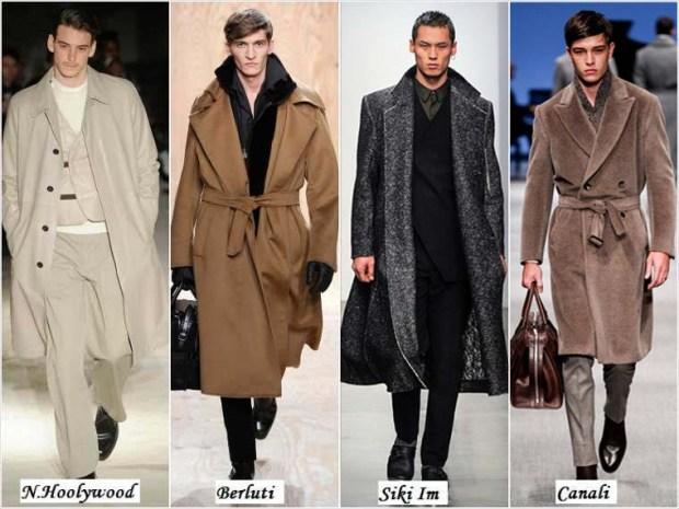 Romantic style men's clothes Winter 2016