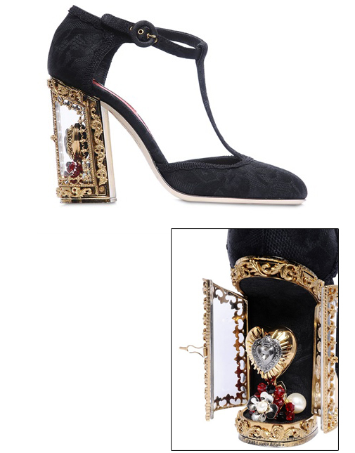 Dolce&Gabbana shoes with door