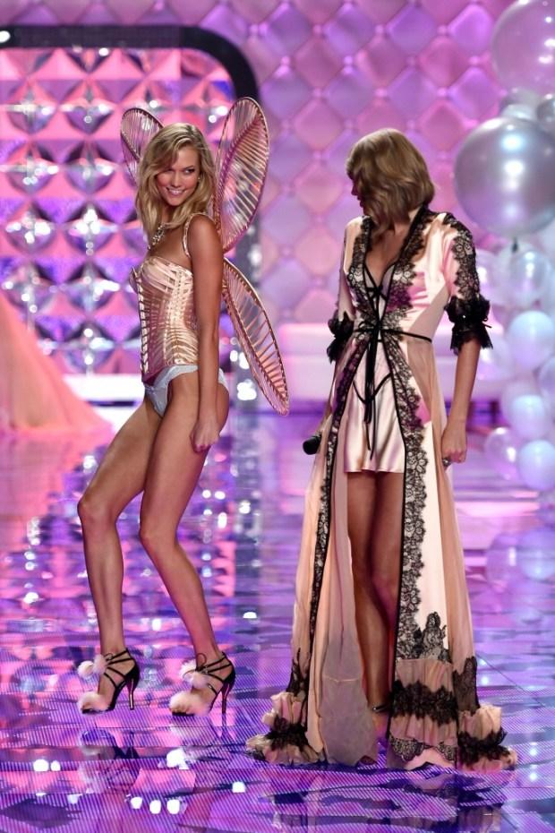 Guests of Victoria Secret show