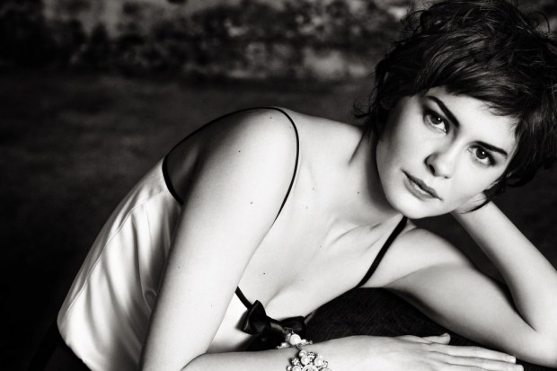 Celebrity Audrey Tautou short haircut