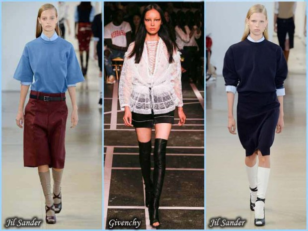 Fashionable Thigh boots Spring 2016