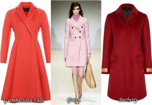 Retro model dress coat