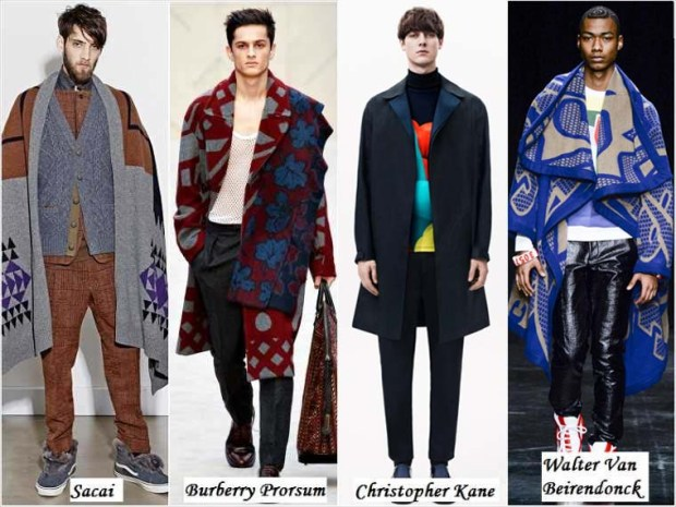 Bohemian style clothes for men Winter 2016