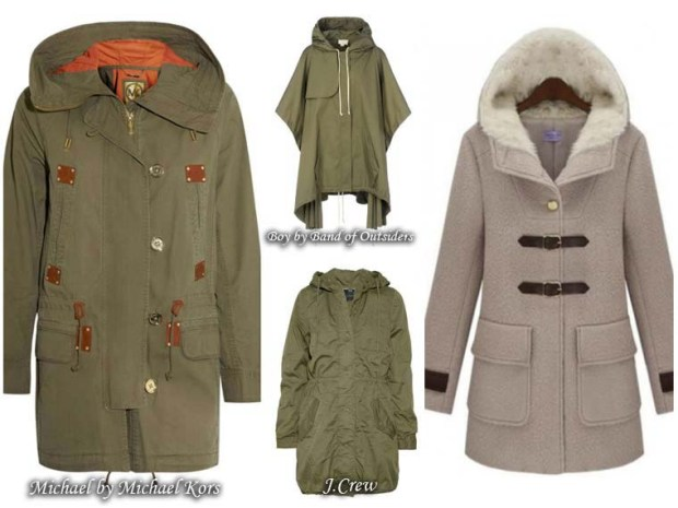 Women trendy Coats French style