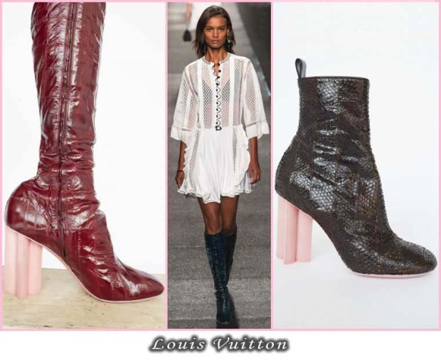 Patent leather boots Spring 2016