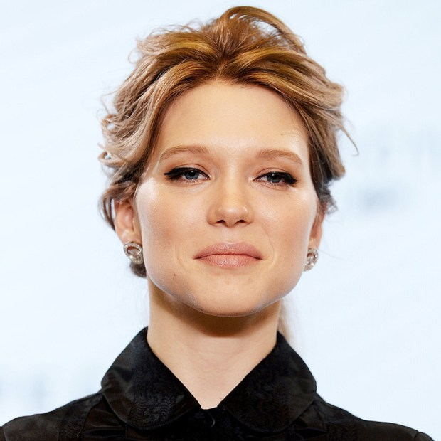 "Léa Seydoux at the start of filming of the 24th James Bond film - ""Spectrum"", December 4, 2015"