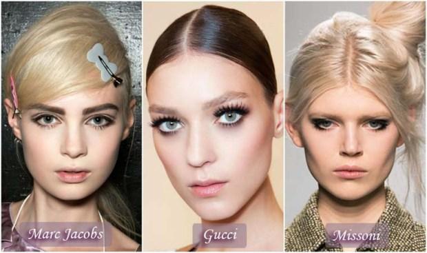 Smoky eyeshadows makeup New Year's 2016 Eve