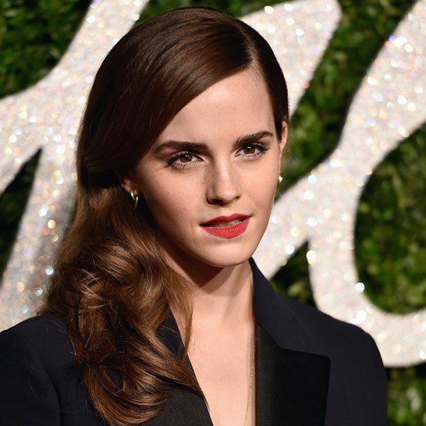 Emma Watson at British Fashion Awards, December 1, 2015