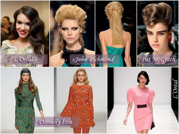 Retro style hairstyles New Years Eve 2016