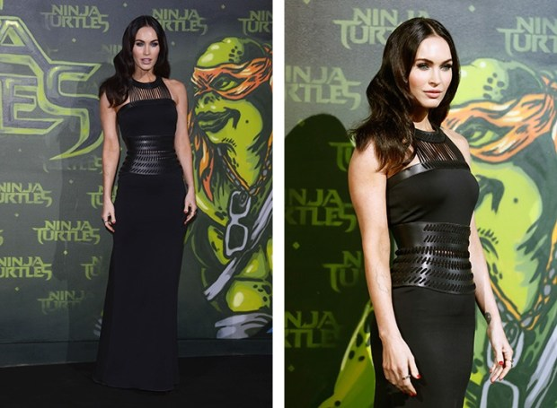 Megan Fox in best black dress