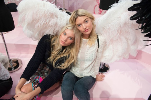 Elsa Hosk and Martha Hunt