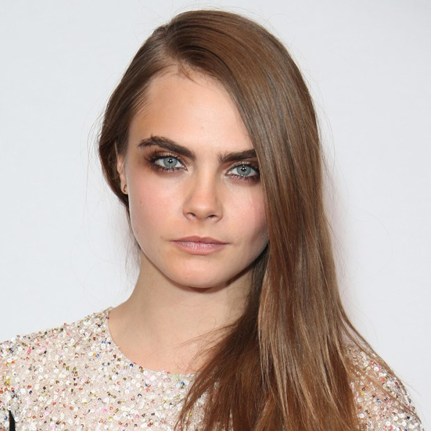 Cara Delevingne at British Fashion Awards, December 1, 2015