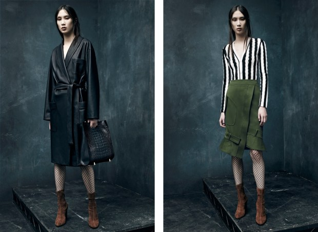 The mid season collection from the American designer
