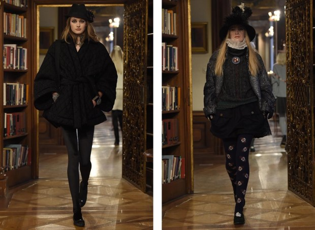 Karl Lagerfield showed the new Chanel mid season collection in the Austrian city