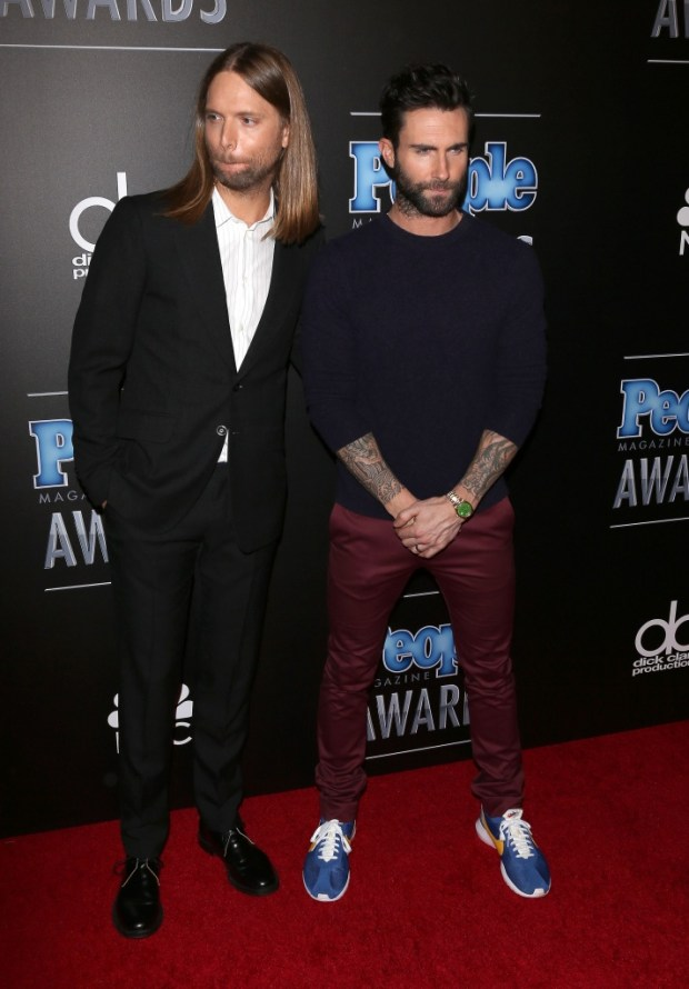 James Valentine and Adam Levine PMA2014