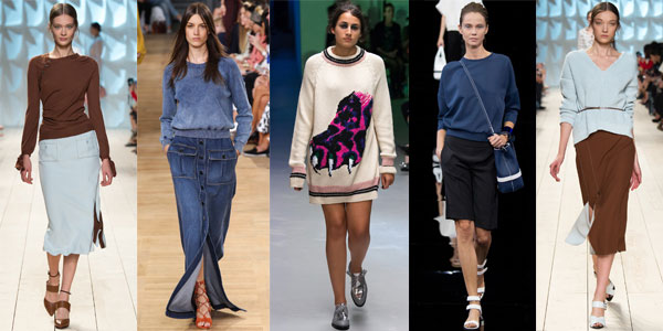 Women's sweaters, turtlenecks and hoodies