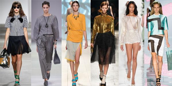 Women's trendy blouses Spring Summer 2016