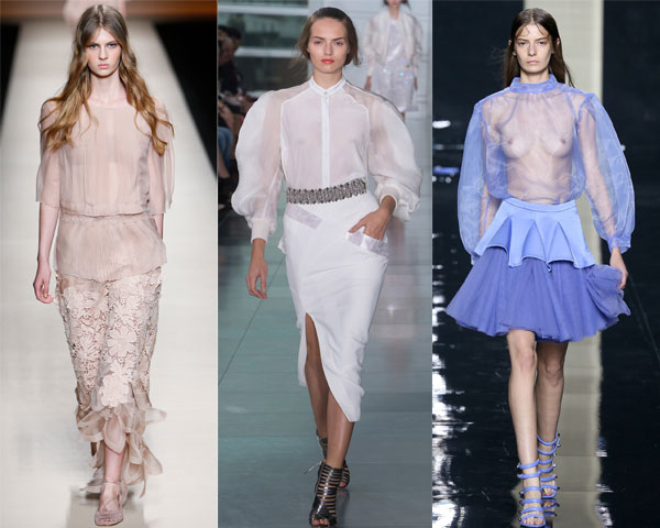 Transparent blouses 2016