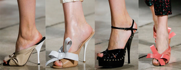 Ladies heeled