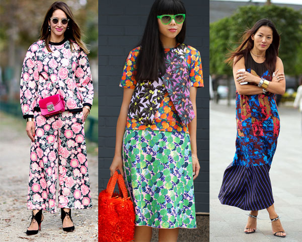 Street style floral print